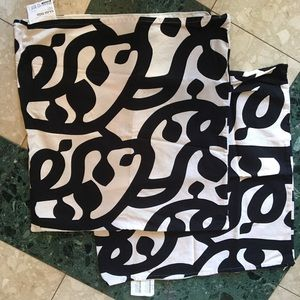 2 IKEA pillow covers
